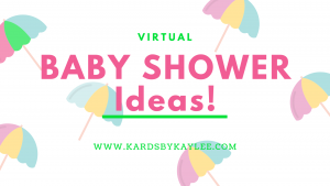 virtual baby shower ideas banner