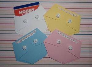 diaper shaped gift card holder for baby shower