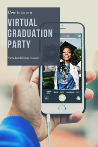 how to plan a virtual graduation party