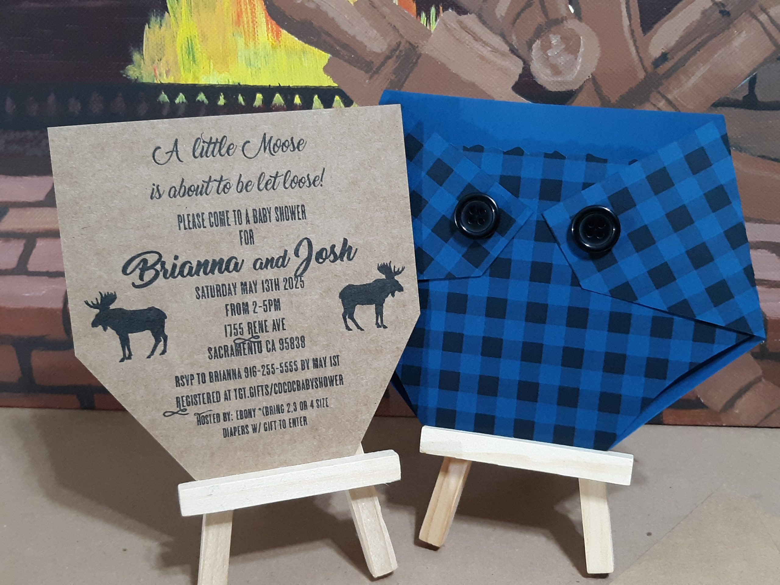 Plaid Baby Shower Invitation Moose Diaper Shaped Invitations Buffalo Plaid Wilderness Party Fall Baby Shower Bonfire Camp Kards By Kaylee The buffalo bills, and the recap of. plaid baby shower invitation moose diaper shaped invitations buffalo plaid wilderness party fall baby shower bonfire camp