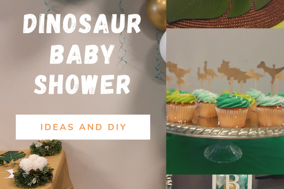 Dinosaur baby shower ideas and DIY
